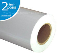 Glossy Photo Large-Format Roll Paper. 42x100' gloss shines for every print. If you have a 42